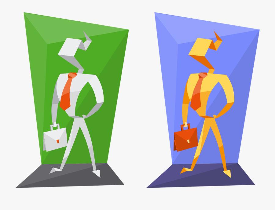 Transparent Powerpoint Clipart Männchen - Origami Character Design, Transparent Clipart