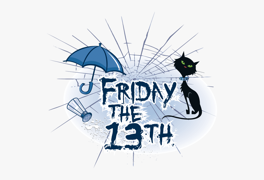 Friday Clipart Happy Friday - Free Clip Art Friday The 13th, Transparent Clipart