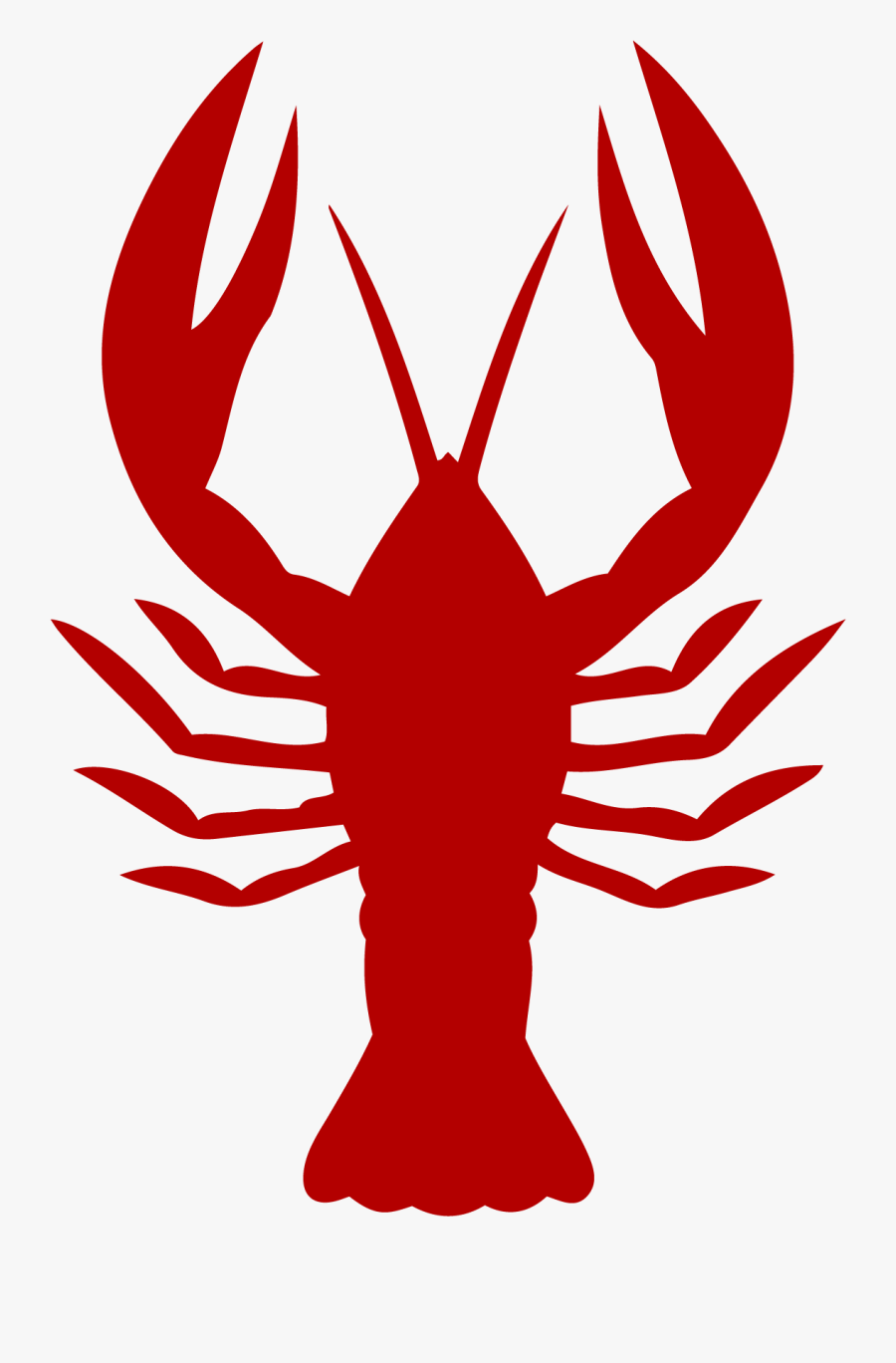 Crayfish Vector Graphics Lobster Seafood Boil Louisiana - Clipart Crawfish, Transparent Clipart