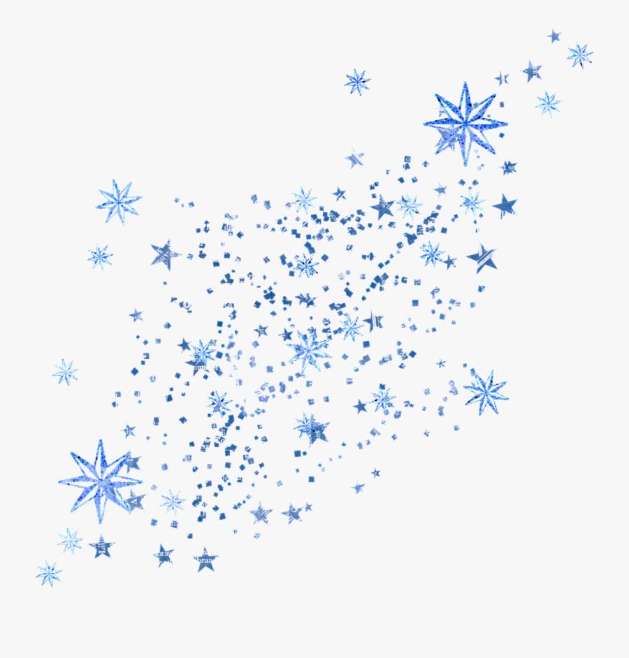 Animation Clip Art - Falling Stars Transparent Animated, Transparent Clipart