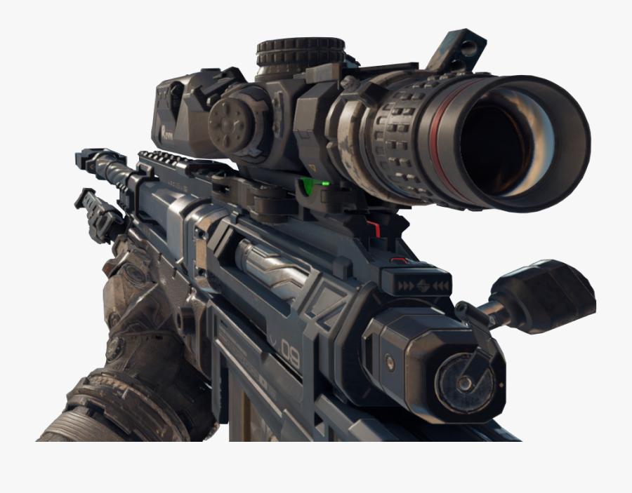 Locus Sniper Transparent & Png Clipart Free Download - Call Of Duty Black Ops 4 Sniper Render, Transparent Clipart
