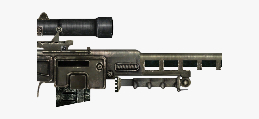 Drawn Snipers Sniper Rifle - Fallout 4 Dks 501, Transparent Clipart