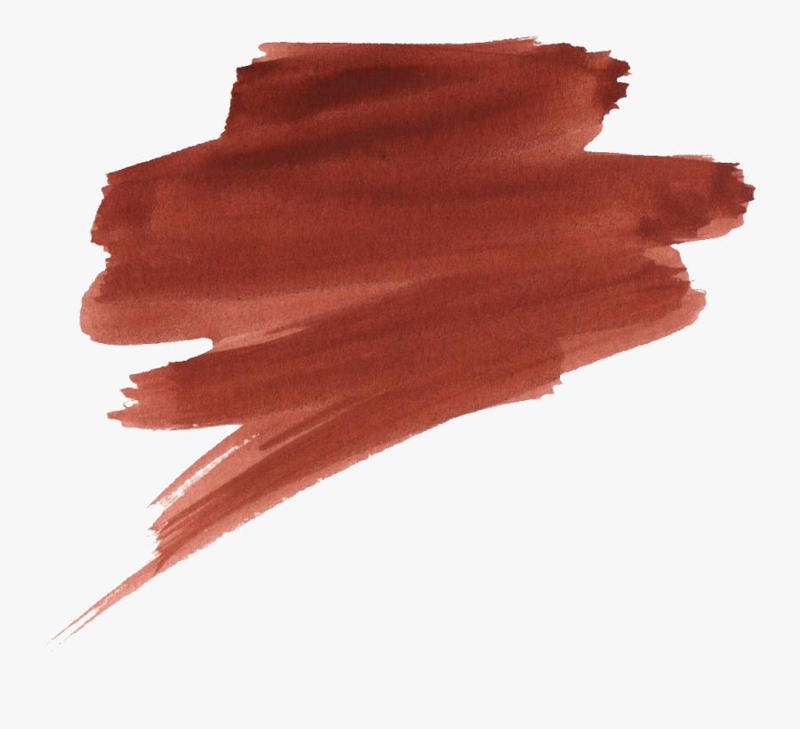 Red Paint Stroke Png Brown Brush Stroke Png Free Transparent Clipart Clipartkey