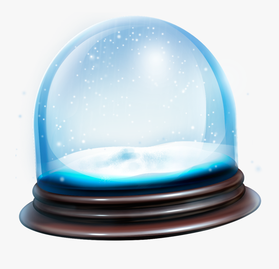 #snowglobe #snow #globe #transparent #overlay #bubbles - Overlay Transparent Snow Globe, Transparent Clipart