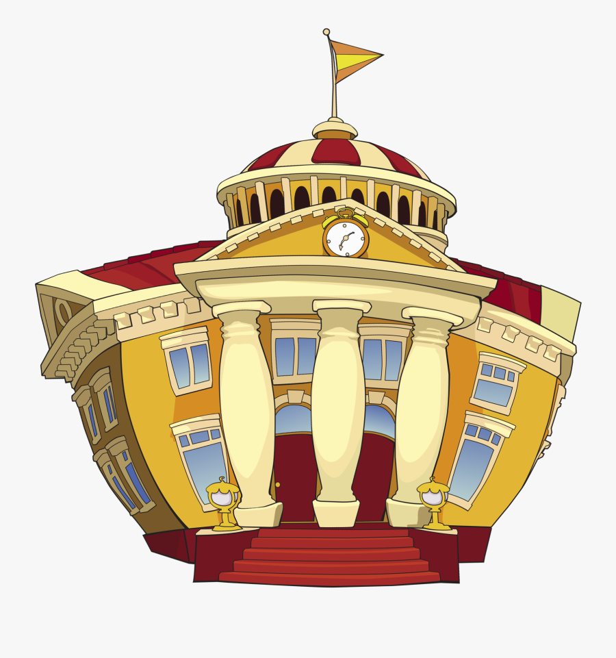 Lazytown Mayor Town Hall - Lazy Town Town Hall, Transparent Clipart
