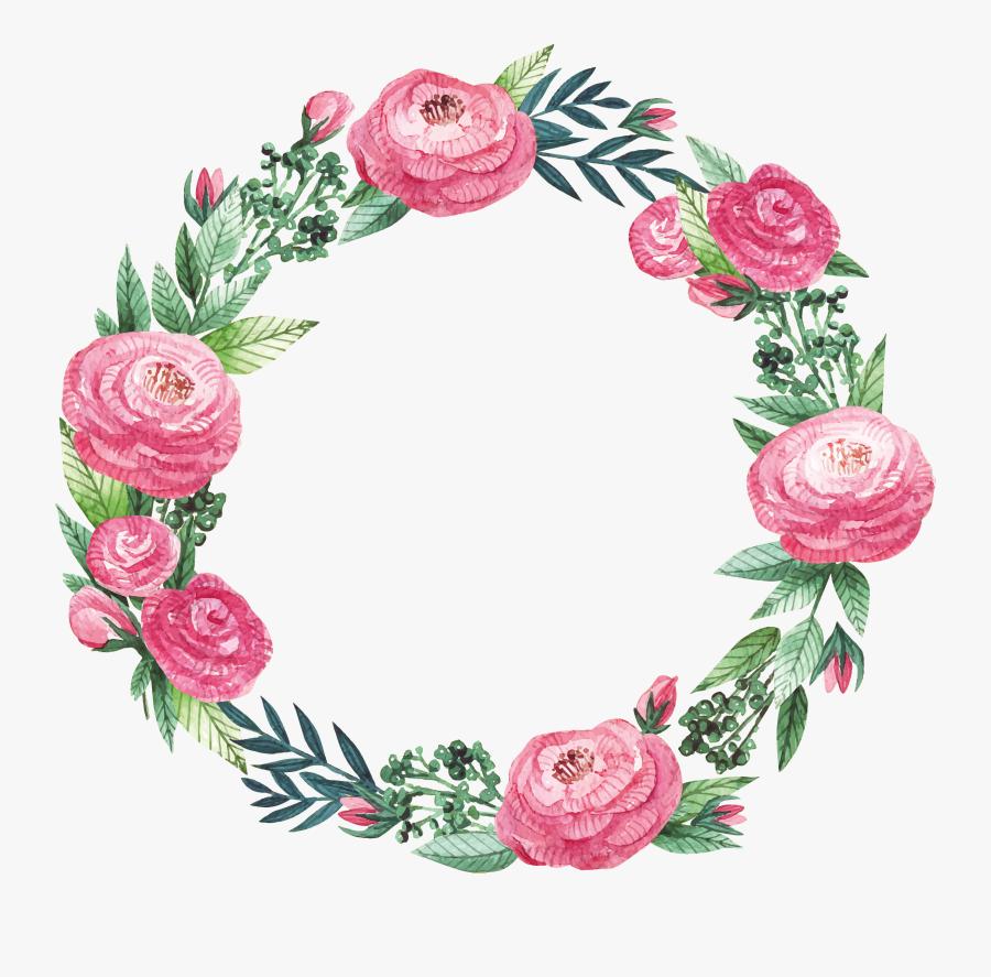 Clip Art Freepik Com Decoupage Flowers - Transparent Floral Frame Png, Transparent Clipart