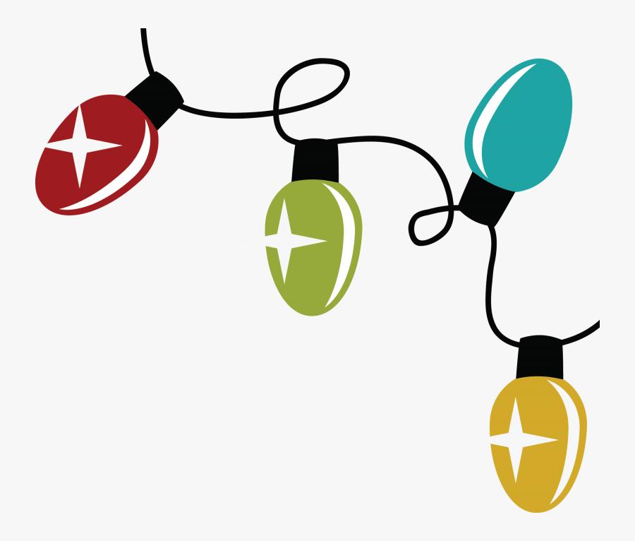 Mingle And Jingle Transparent Background - Christmas Lights Svg File, Transparent Clipart
