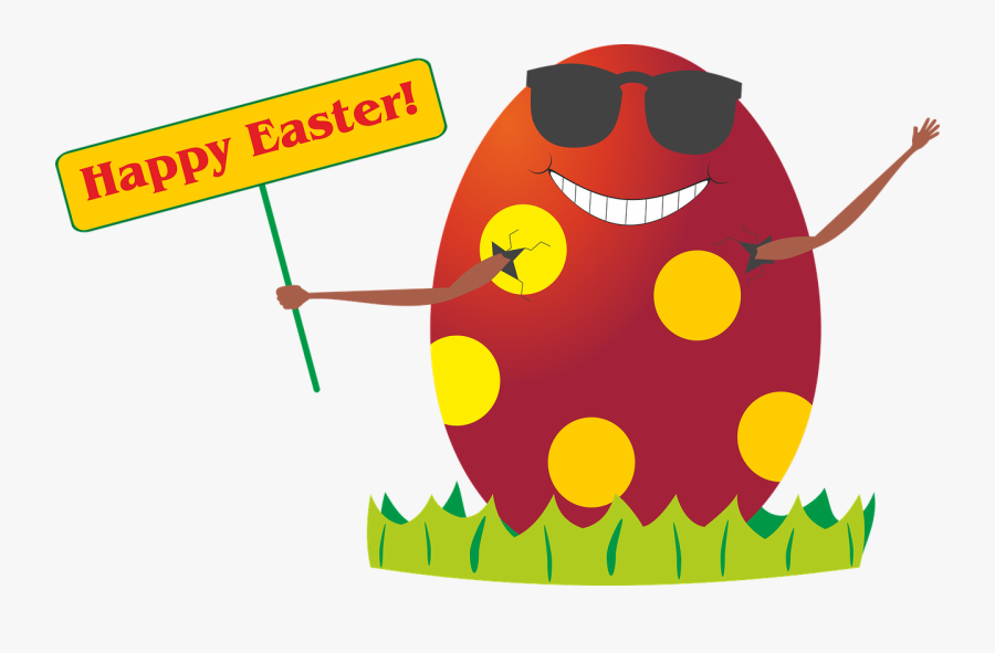 Easter Easter Egg Egg Free Picture - Funny Easter Bunny Clipart, Transparent Clipart