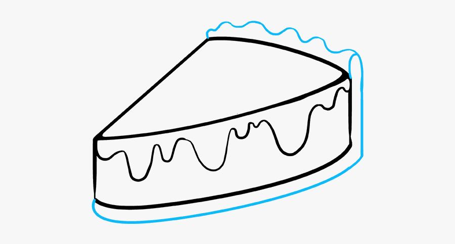 Pastry Line Art Png, Transparent Clipart