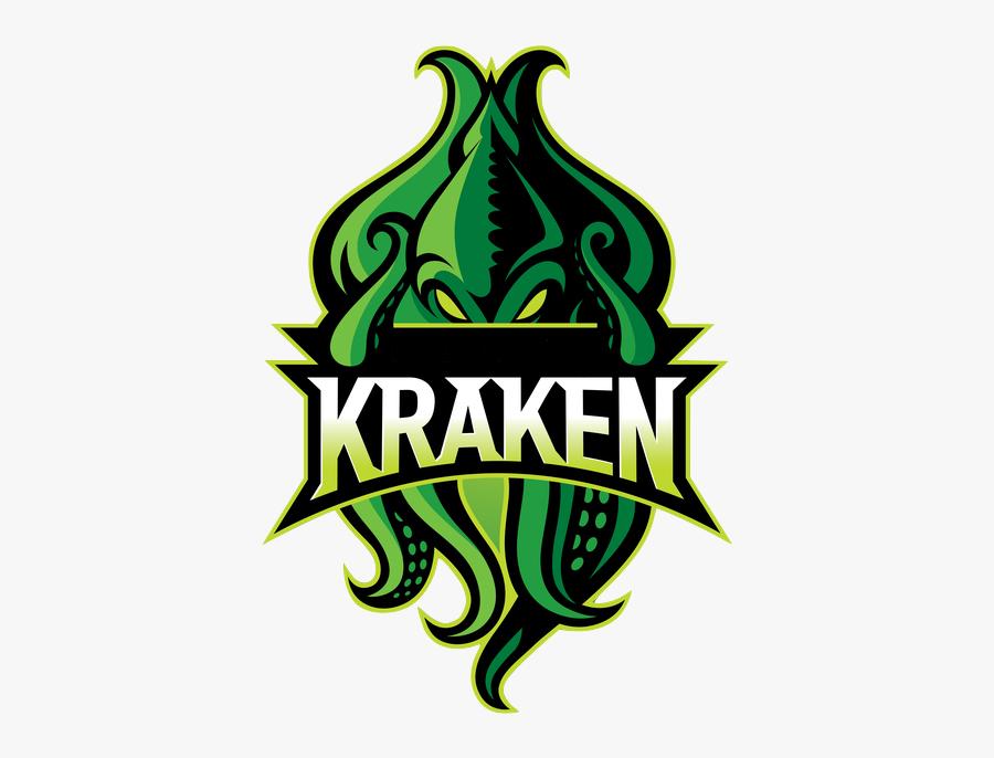 Kraken Logo, Transparent Clipart