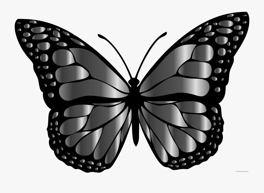 Butterfly Clipart Monarch - Rainbow Butterflies, Transparent Clipart