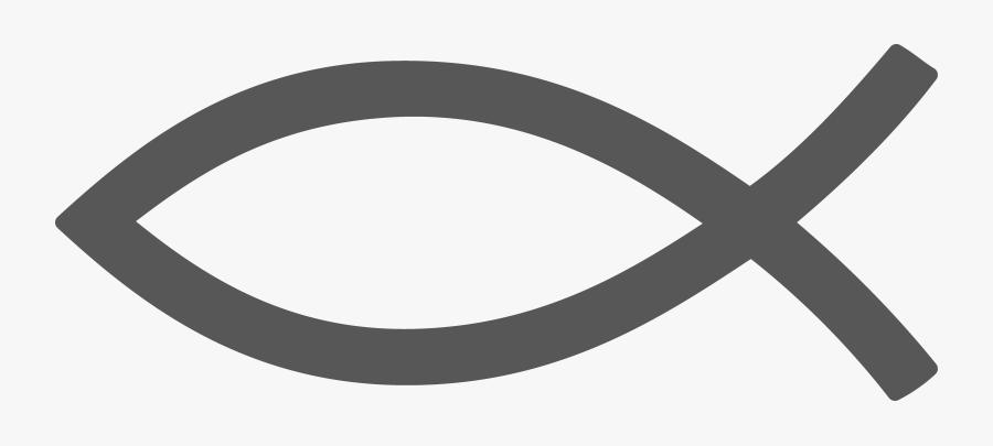 Circle,clip Art,oval,rim - Christian Fish Symbol .png, Transparent Clipart