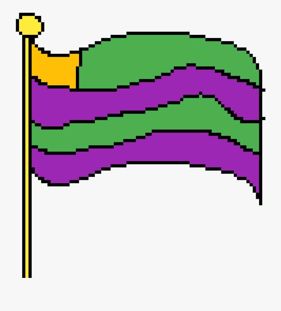 Alien Flag By Dancer-boy - Transparent Pride Flag Emoji, Transparent Clipart