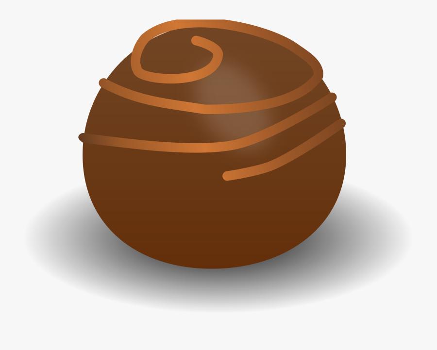 Sphere,praline,chocolate - Praline Clipart, Transparent Clipart