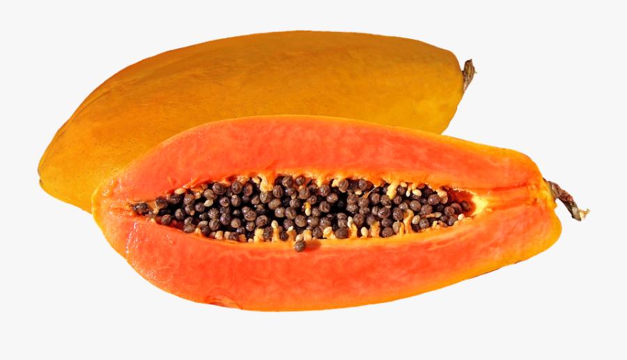 Papaya, Fruit, Tropical Fruit, Food, Fruit Bomb - Orange Papaya Fruits, Transparent Clipart