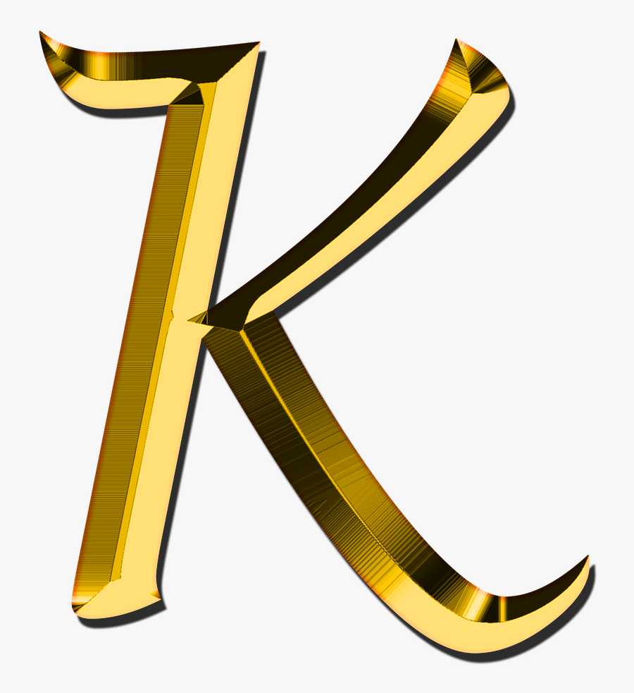 Capital Letter K - Letter K Transparent Background, Transparent Clipart