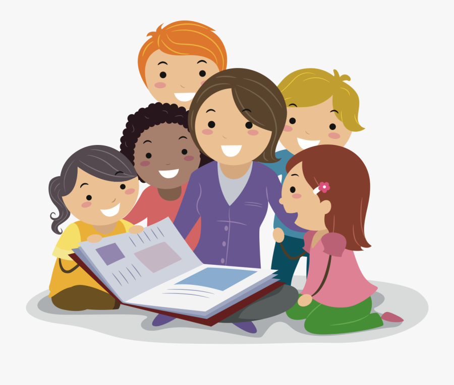 Teacher Reading Clipart , Png Download - Teachers Teaching ...