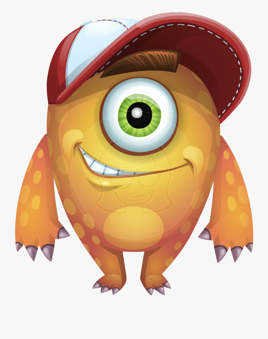 Cyclops Monster Cartoon Vector Character Aka One Eyed One Eyed Free Transparent Clipart Clipartkey