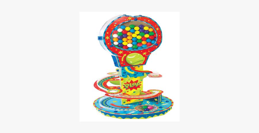 Klutz Gum Ball Machine - Illustration, Transparent Clipart