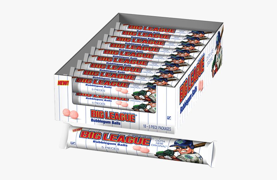 Big League Chew Bubblegum Balls, Transparent Clipart