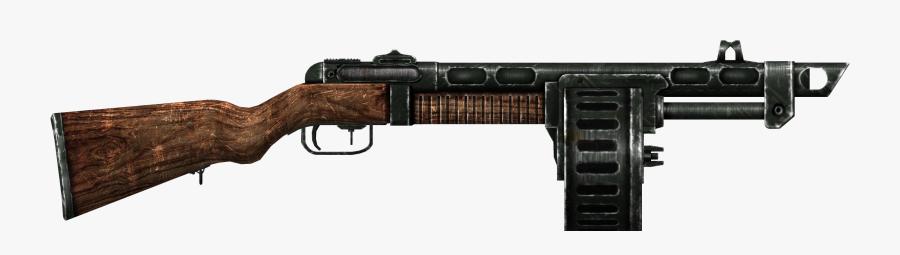 Transparent Shotgun Shell Clipart - Fallout 3 Shotgun, Transparent Clipart