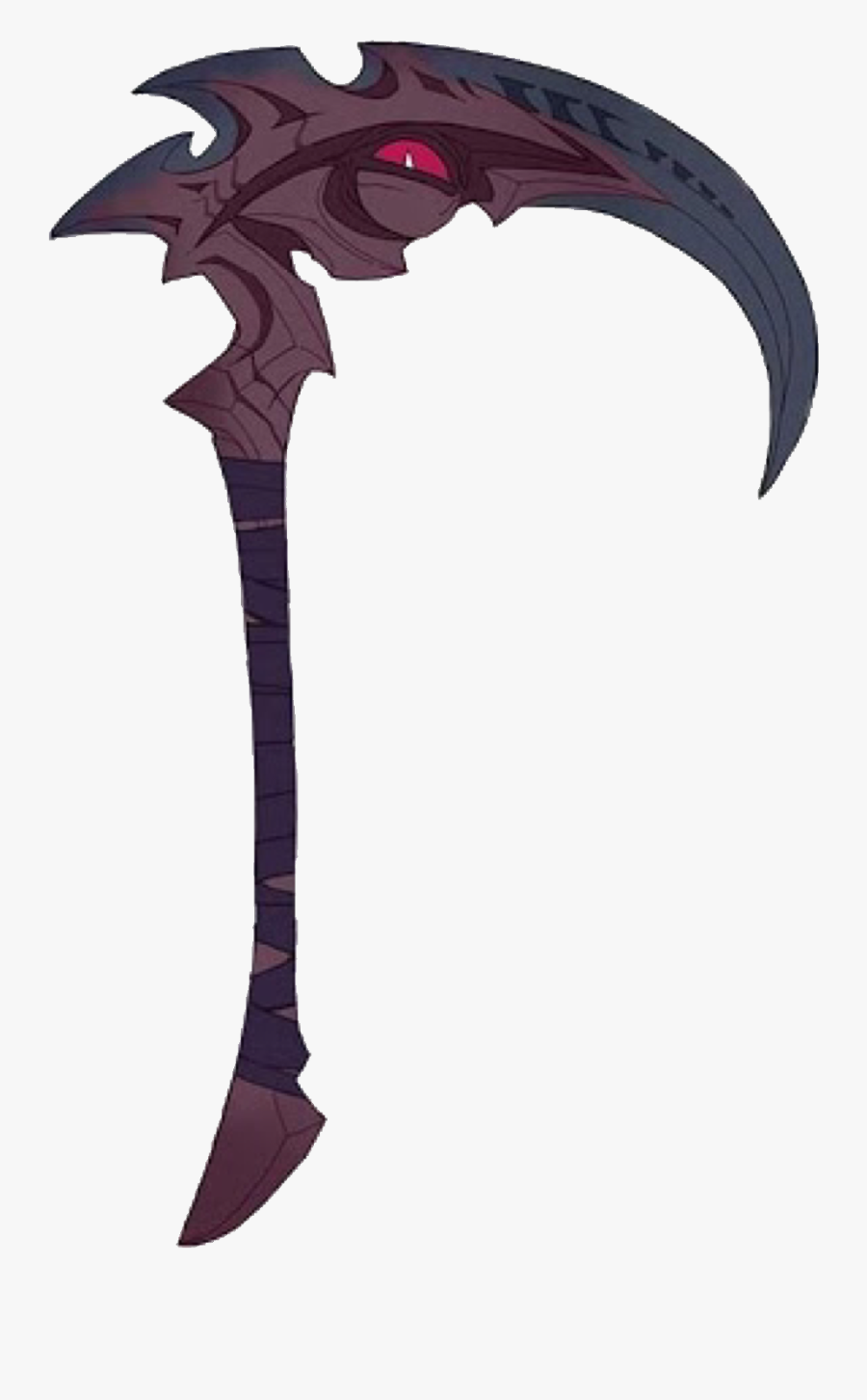 Scythe Weapon Demon Kayn Leagueoflegends Freetoedit Kayn League Of Legends Scythe Free Transparent Clipart Clipartkey