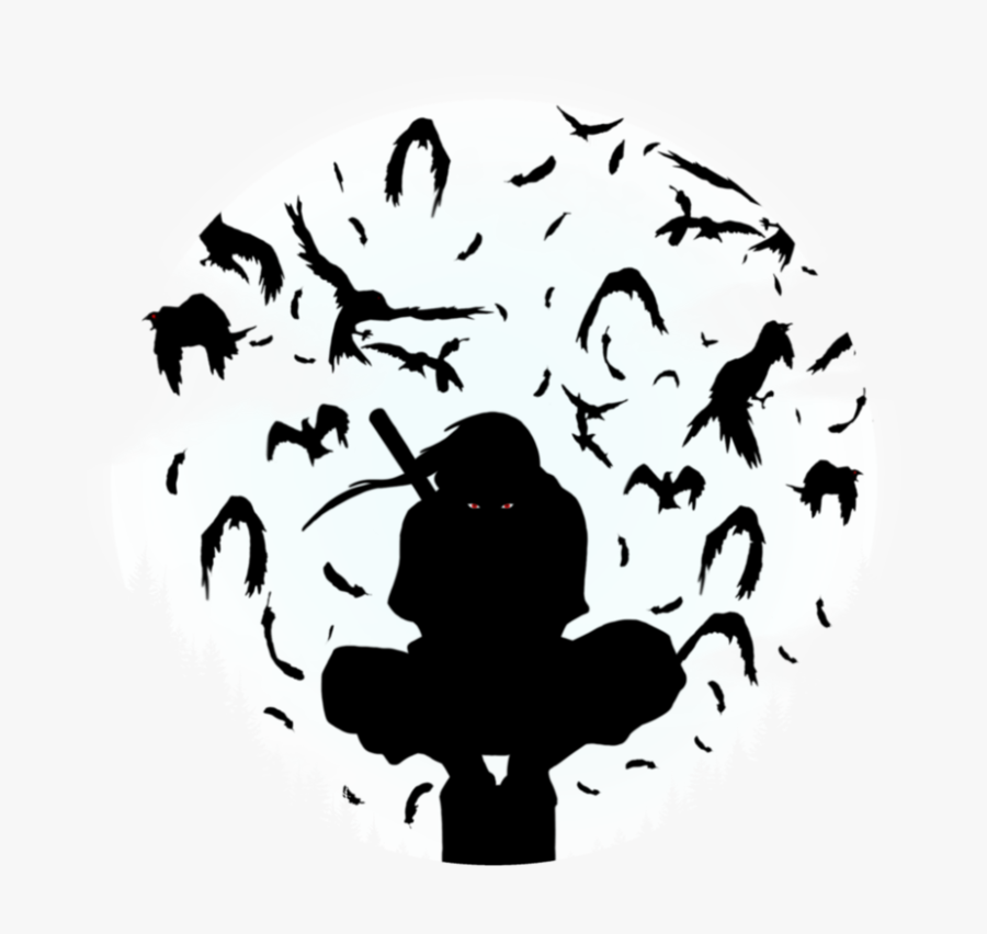 Itachi Uchiha By Kumoaoiro Itachi Uchiha Black And White Free Transparent Clipart Clipartkey