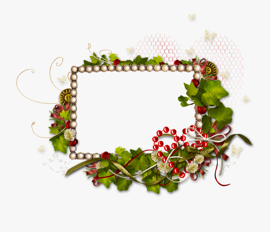Frame, Photo Frame, Photoshop, Greens, Love, Heart - Picture Frame, Transparent Clipart