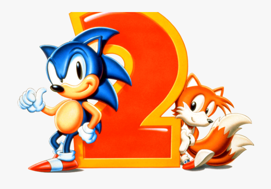 Sonic The Hedgehog - Sonic And Tails Sonic 2, Transparent Clipart