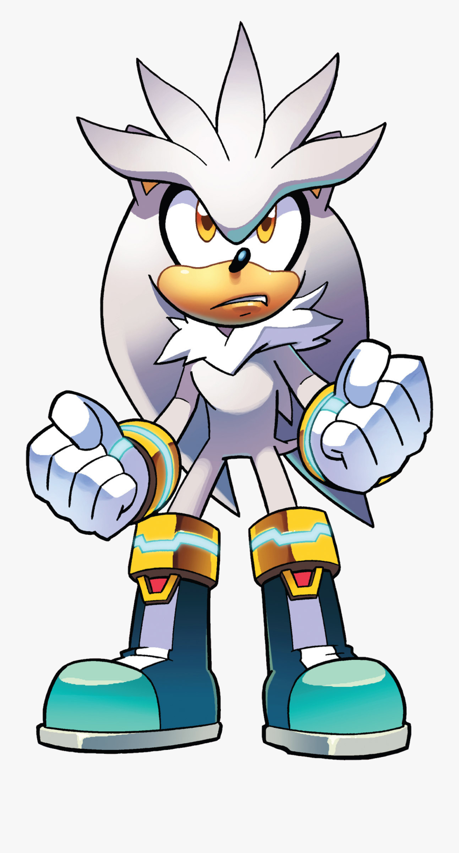 Sonic News Network - Silver The Hedgehog Death Battle, Transparent Clipart