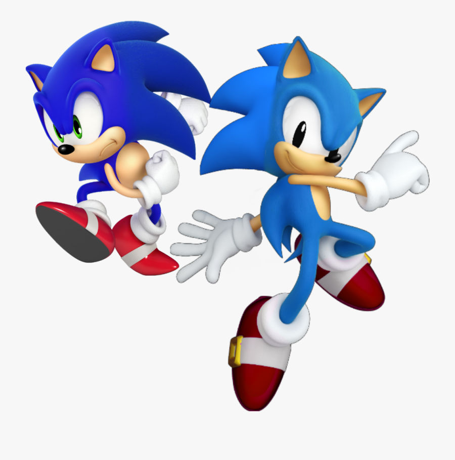 Classic Sonic Png Modern Sonic The Hedgehog Free Transparent Clipart Clipartkey