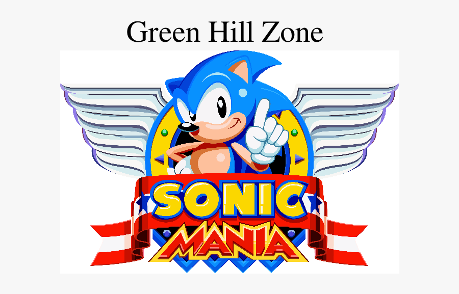 Sonic Mania Logo Png Free Transparent Clipart Clipartkey