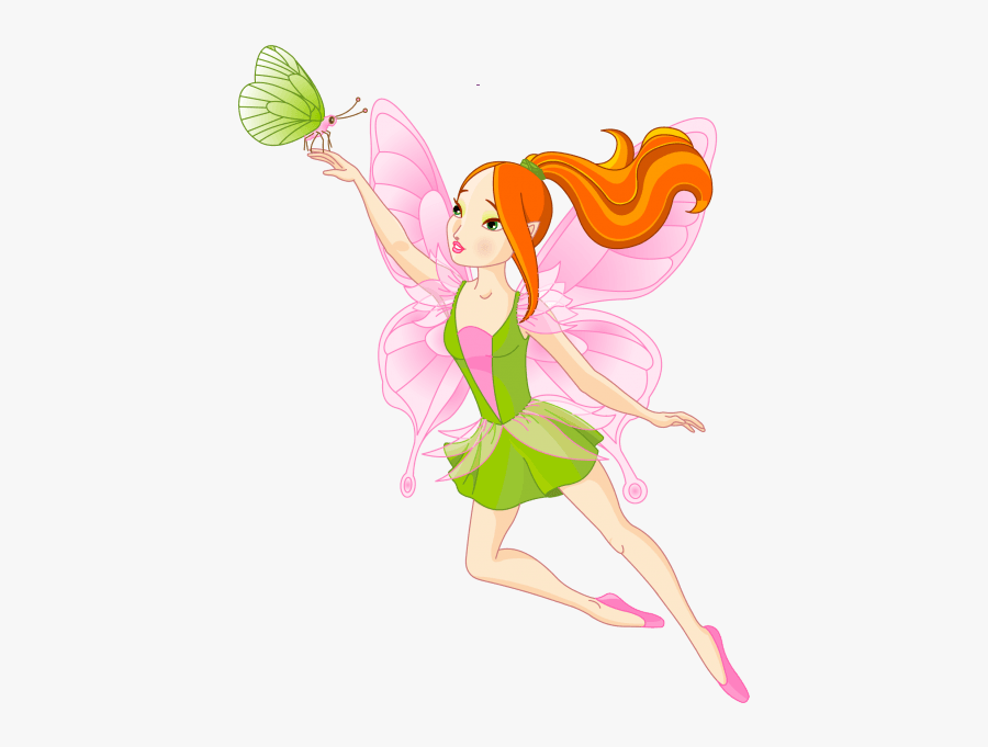 Fairy Graphics Butterfly Fairy Wings Clip Art - Fairy Flying Clipart, Transparent Clipart