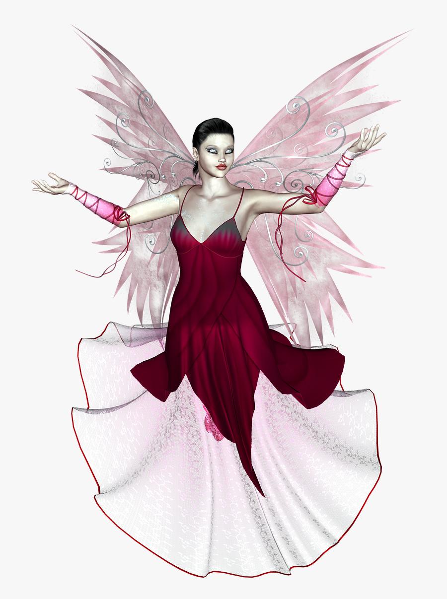 3d Png Fairy, Transparent Clipart