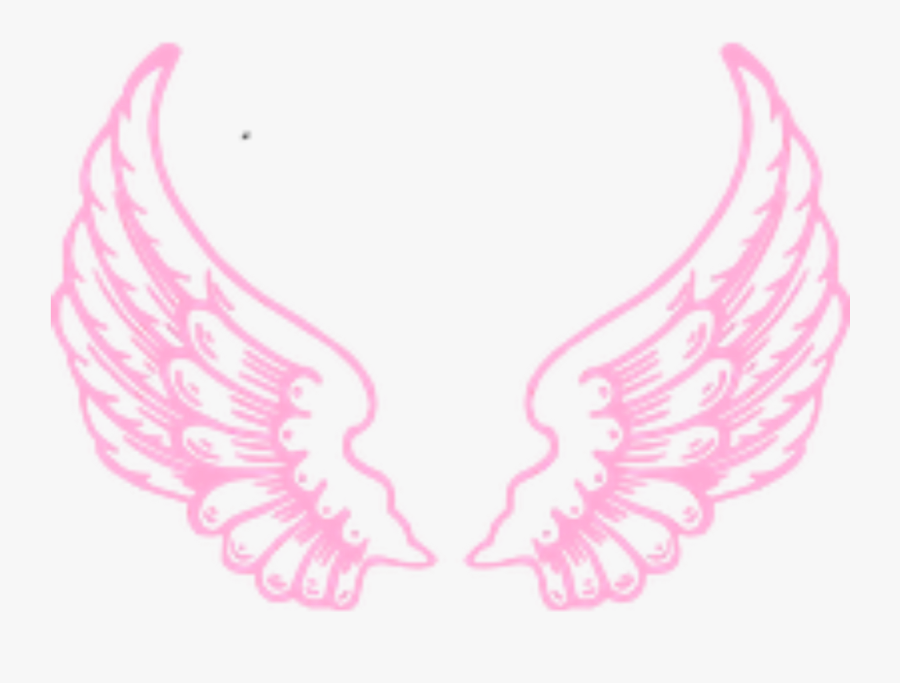 Ftestickers Fantasyart Wings Fairy Angel Pink - Angel Wings Clipart Png, Transparent Clipart