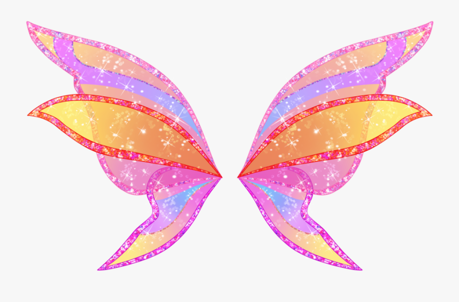 Pink Fairy Wings Png, Transparent Clipart