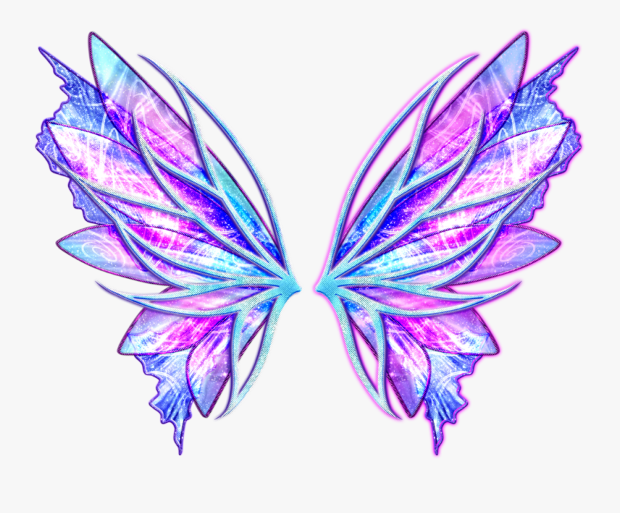 Transparent Angel Wings Png - Winx Club Onyrix Wings, Transparent Clipart