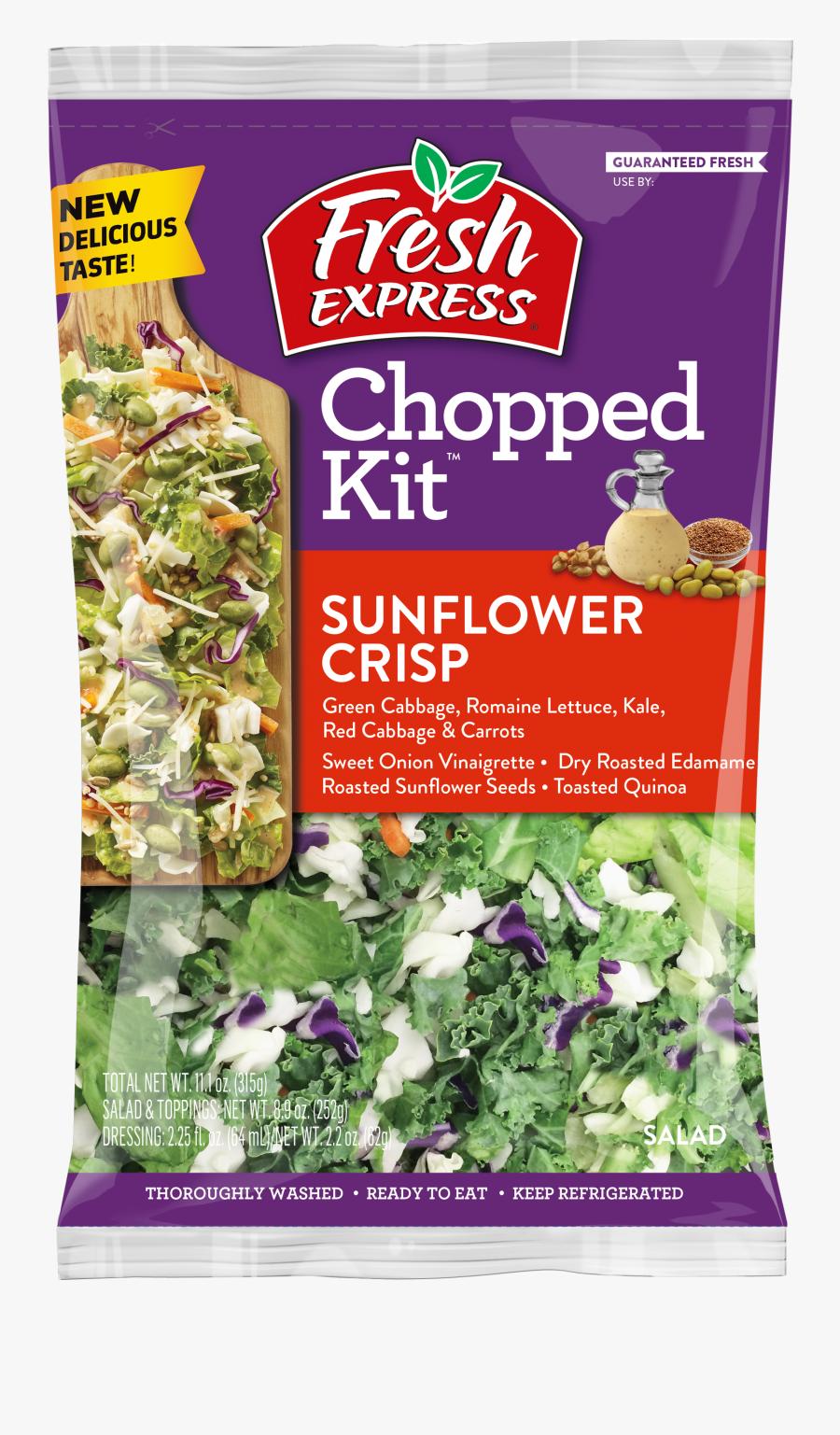 Sunflower Crisp Chopped Salad - Pomegranate Chopped Salad Kit, Transparent Clipart