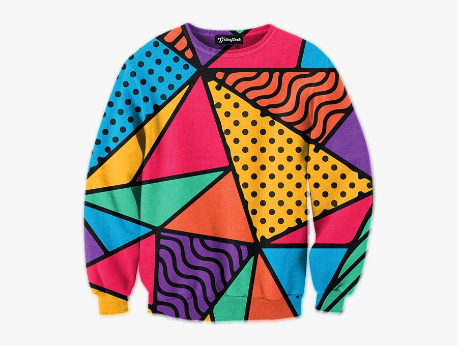 Clip Art 90s Print - 90's Shirt, Transparent Clipart
