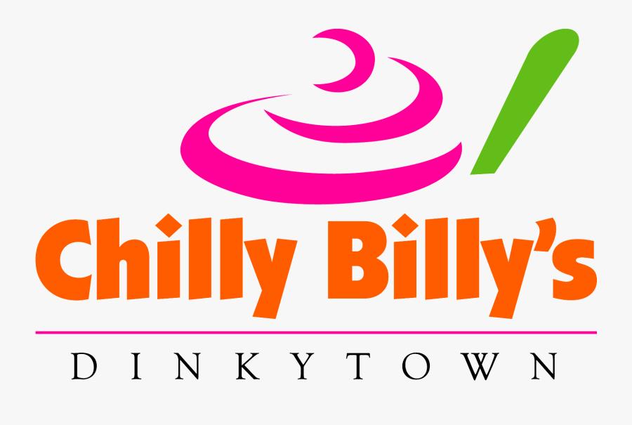 "Chilly Billy""s Frozen Yogurt Logo, Transparent Clipart"