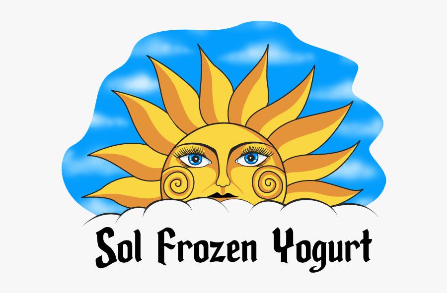 Sol Frozen Yogurt, Transparent Clipart