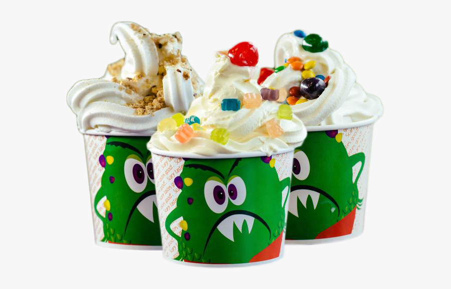 Monster Yogurt, Transparent Clipart