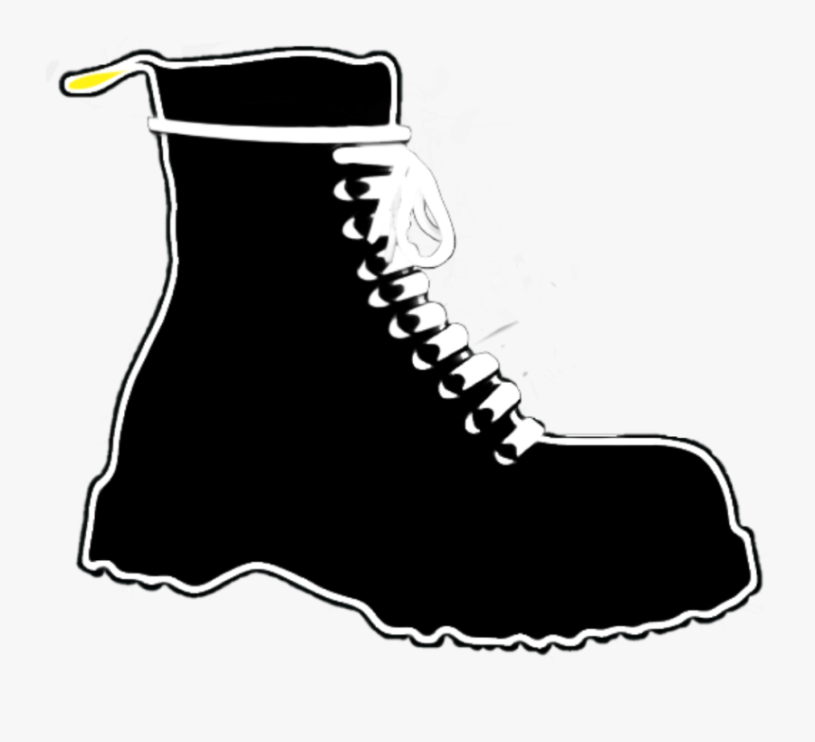 #boot #boots #bootsandbraces #combat76 #drmartens #skinhead - Work Boots, Transparent Clipart