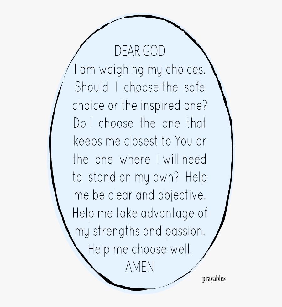 Positive Clipart Motivational Quote - Circle, Transparent Clipart
