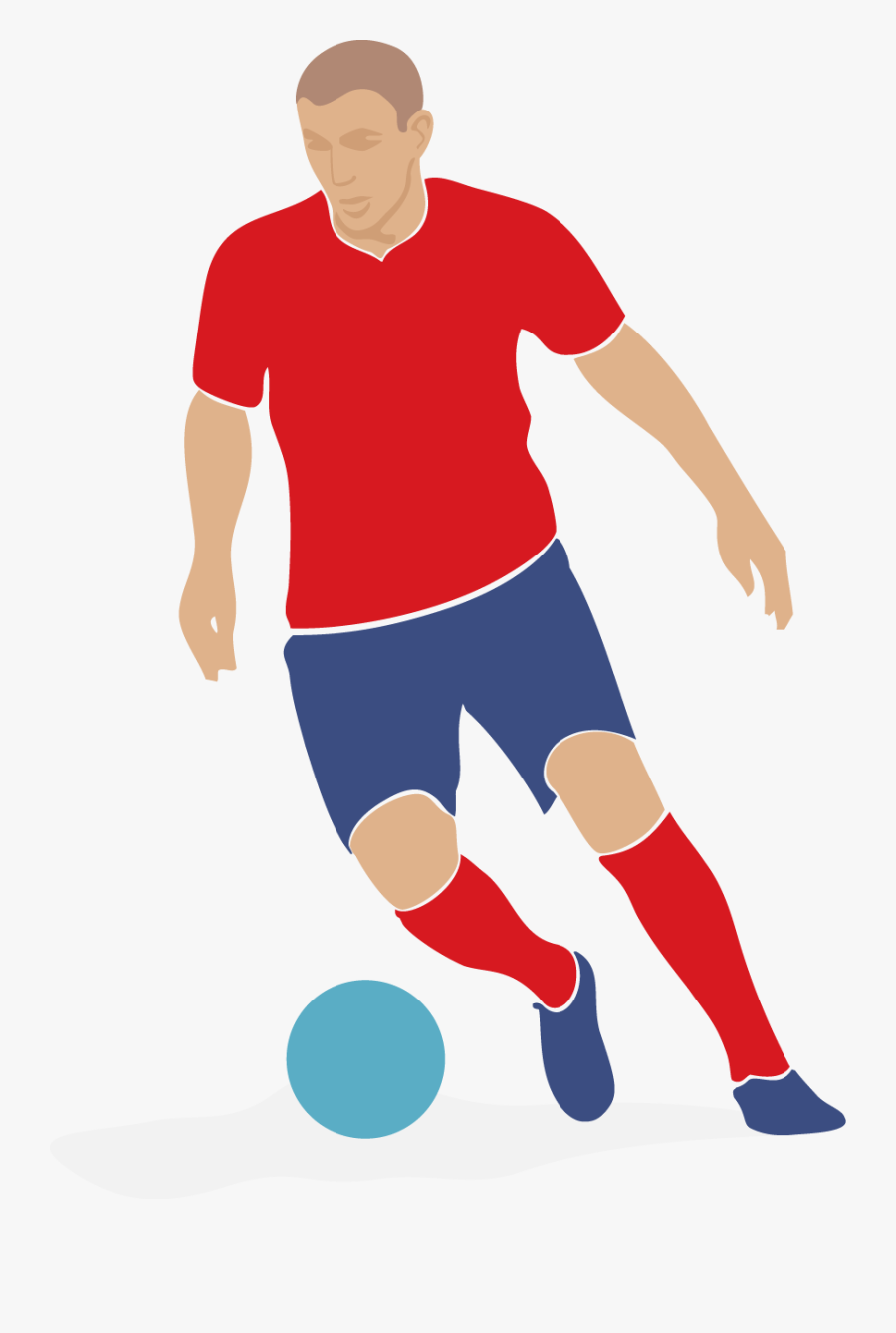 Football Player Clip Art - Logo Pic Of Football Player, Transparent Clipart