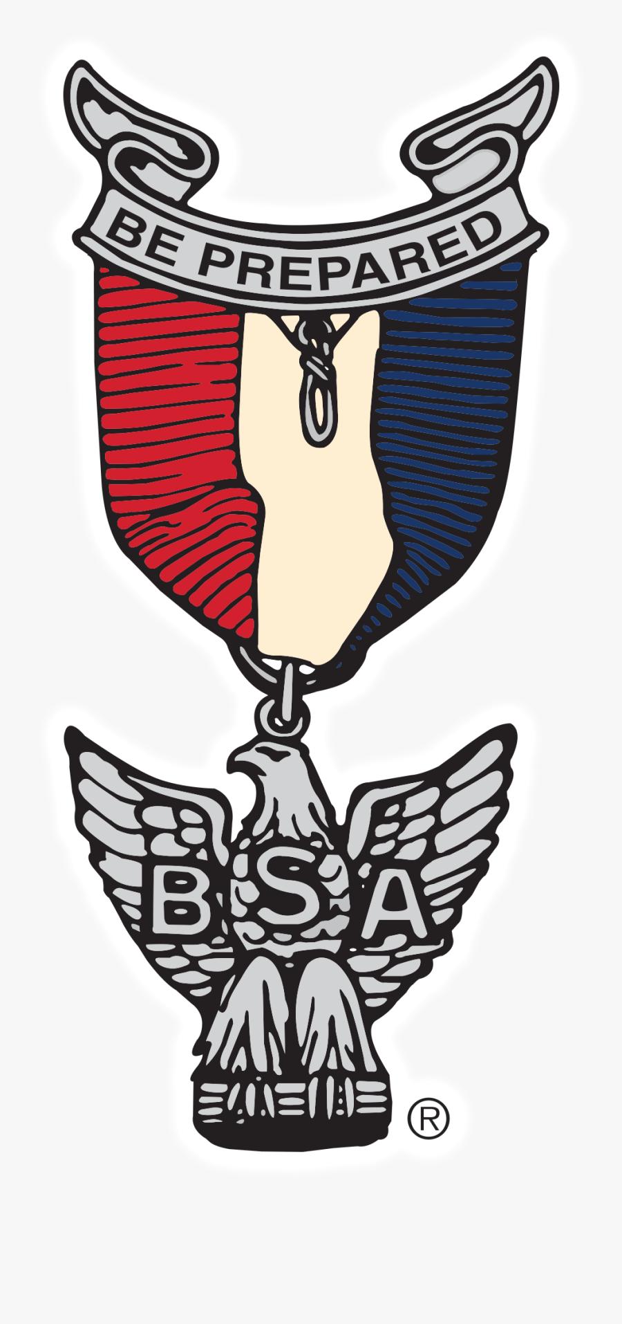 Transparent Eagle Scout Medal Clipart - Eagle Scout Clip Art, Transparent Clipart