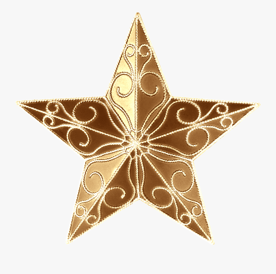 Christmas Tree Christmas Ornament Tree-topper Star - Christmas Tree Star Png, Transparent Clipart