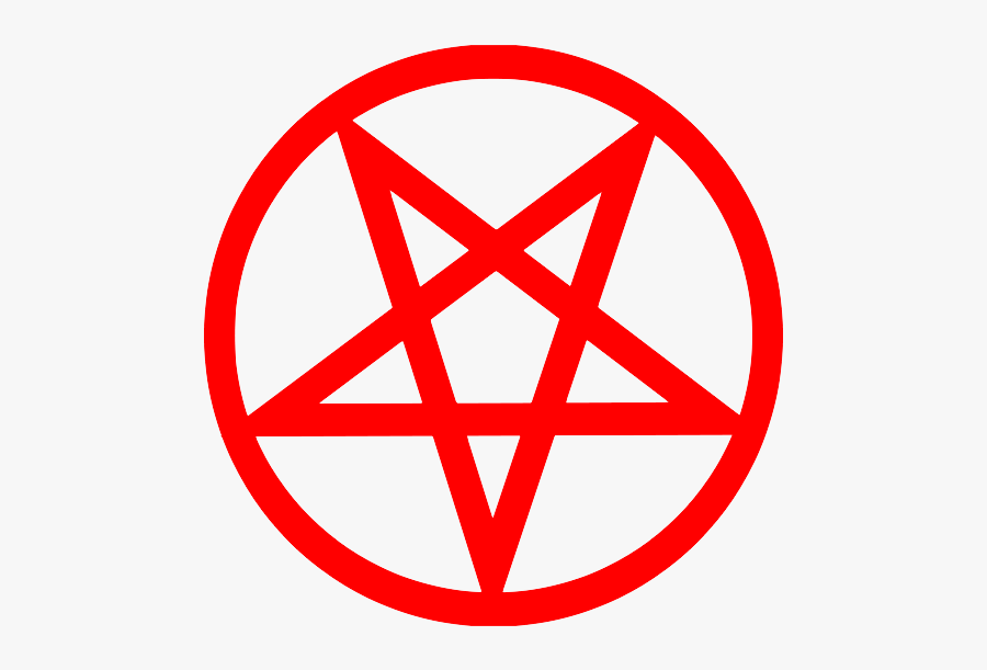 Pentacle Png - Inverted Pentacle, Transparent Clipart