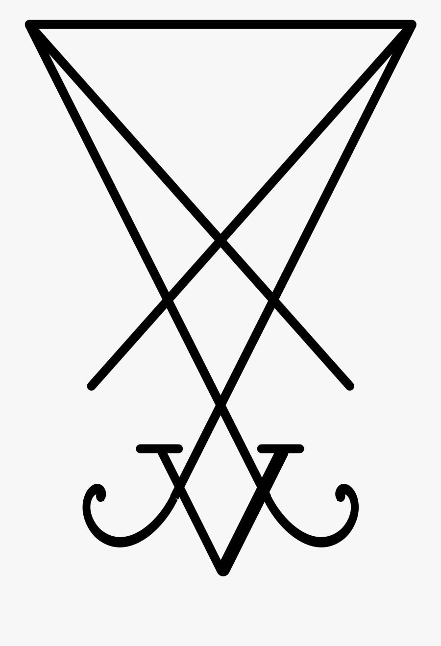 Theistic Satanism - Sigil Of Lucifer Vector, Transparent Clipart