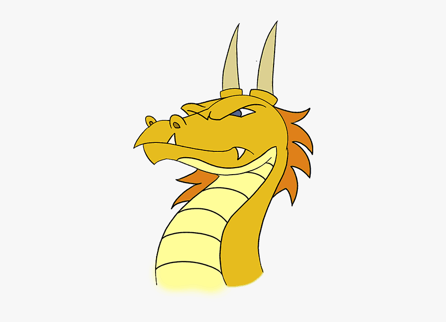 How To Draw Dragons Best Dragon Drawing Tutorials - Easy How To Draw A Step Dragon, Transparent Clipart
